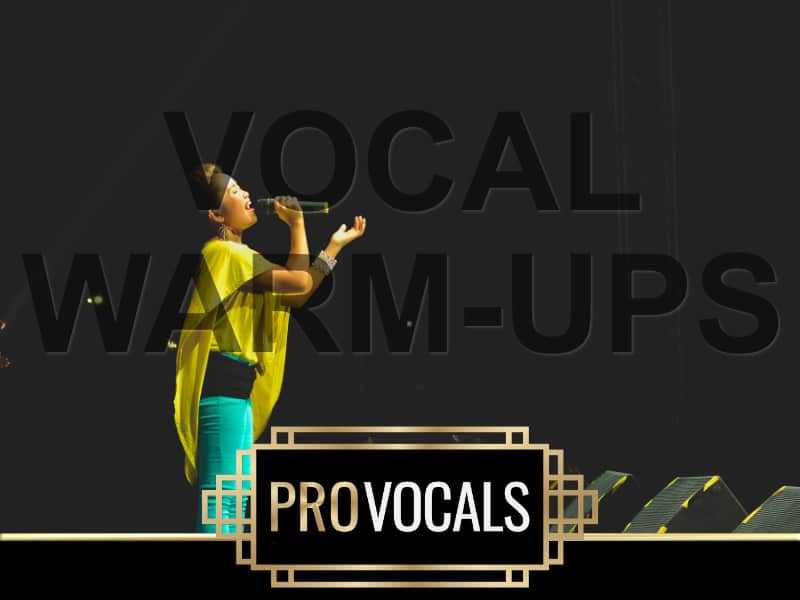 Vocal Warm-ups at ProVocals Vocal Academy Singing Lessons and Voice Coach