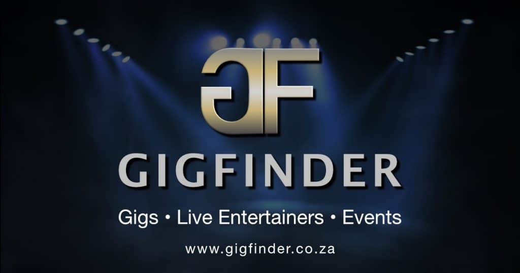 Book live entertainers, gigs, event services and function venues from Gig Finder South Africa